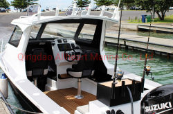 Allheart Neuseeland Entwurfcuddy-Kabine-Platten-entspannendes laufendes Aluminium-Fischerboot mit Cer
