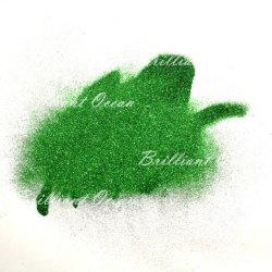 Зеленый цвет макияж Eyeshadow пигмента Блестящие цветные лаки порошок