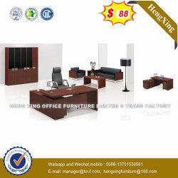 Marché Lecong couleur noire en bois table Office (HX-ONU001)