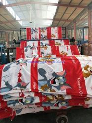 De TextielUitvoer van China, de Doek van de Druk van de Stof van de Polyester van 100%, Gedecentraliseerde Druk, de Druk van de Verf
