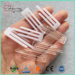 38.7mm M Klemmen van het Overhemd van de Vorm de Plastic voor de Verpakking van het Kledingstuk
