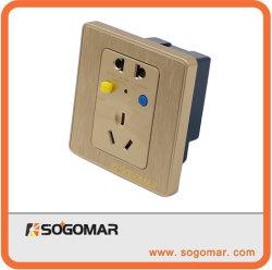 86x86mm Ground-Fault toma eléctrica con la 10A para la protección contra fugas
