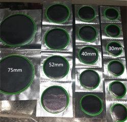 Zona verde di riparazione della gomma del bordo per la gomma di vuoto