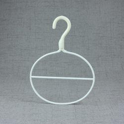 Blanco Bufanda Anillo de Metal Recubierto de Pintura / Colgador Tie