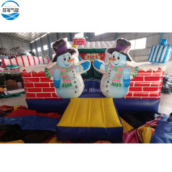 Weihnachtsschlag-Haus des Großverkauf-6.5X4m aufblasbares