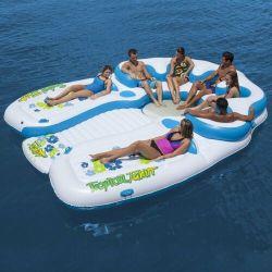 Тропический Таити надувной диван с плавающей запятой воды островных