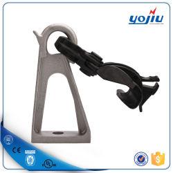 Collier de serrage plastique de suspension avec support en aluminium de préinstallation pour la Pole accessoire de ligne