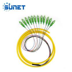 Золото продавец 12 ядер пучками оптоволоконным кабелем для подключения шнура питания исправлений