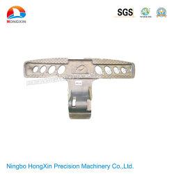 L'ODM moulage sous pression en alliage aluminium OEM personnalisés de la plaque de pied de machine à coudre