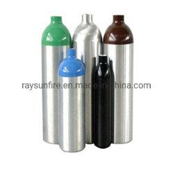 De naadloze Gasfles van het Aluminium van de Hoge druk voor Scba & Scuba-uitrusting