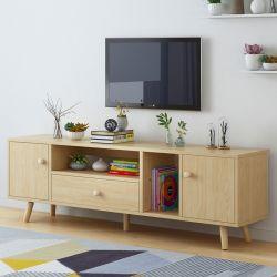 Governo di legno di legno del basamento TV della TV con i piedini del pino