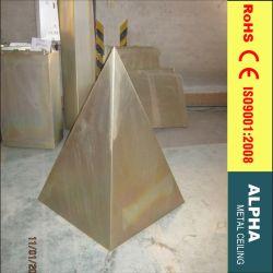 Aluminiummetallaußenim freienZwischenwand
