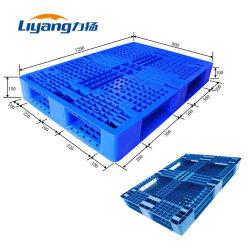 In het groot Grote Op zwaar werk berekende Blauwe Gerecycleerde HDPE Plastic Pallet