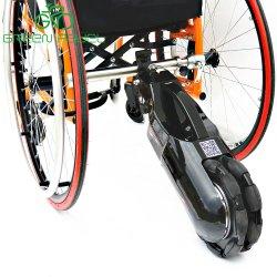 Auto di Greenpedel che equilibra il kit elettrico di conversione della sedia a rotelle del motorino