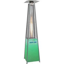 Pyramide de LED extérieur chauffage radiant au gaz avec protection Mesh