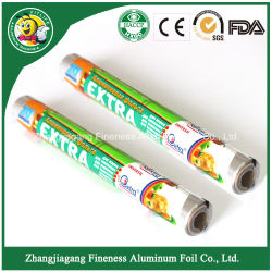 Lámina de aluminio desechable papel para el paquete de alimentos o parrilla