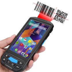 محمول باليد POS قارئ RFID Android رمز PDA الرمز الشريطي الماسحة الضوئية