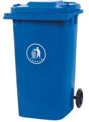 De openlucht Gereden Container van 240 Liter Plastiek
