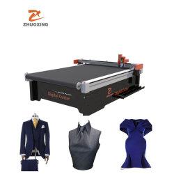 Confection de vêtements en tissu tissu Machine de découpe numérique CNC Équipement de découpe avec ce textile Jinan prix bon marché en usine