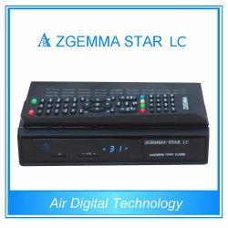 De volledige SatellietOntvanger FTA van de Ster LC van Zgemma van de Software van Kanalen met Tuner dvb-c Één aan Lage Kosten
