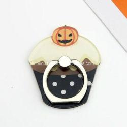 Anillo de soporte del teléfono personalizado de calabaza para Halloween