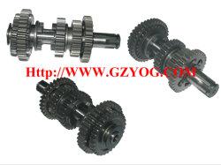 запасные части мотоциклов Yog главной коробки передач двигателя комплект вала промежуточного вала полного Cg125 150 70cc St90 на110 Ybr125 Dy100 Biz110 GN125 En125 hu Cgl125 Лошадь Akt125