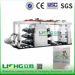 Printer Zes Machine van de Druk van de Kleur de Plastic