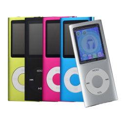 De nieuwe 4de Speler van de Muziek van de Groef 2GB-16GB van de Kaart van het Geheugen BR van de Speler van het 1.8inchLCD Scherm MP3 MP4 MP4