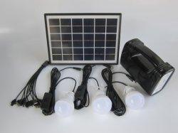 小型キャンプのホーム5W太陽照明装置の可動装置の充電器