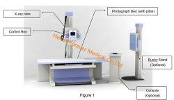 Le Dr Plat Yjx de rayons X160d'un système de radiographie