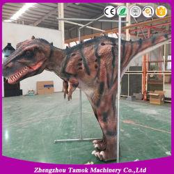 Парк развлечений для взрослых Animatronic T Rex костюм динозавров