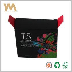 Boîte d'emballage du papier pour maquillage Poudre Pressée