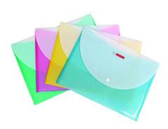 Бумажник формы и PP, PP материалов формата A4 Файл конверта