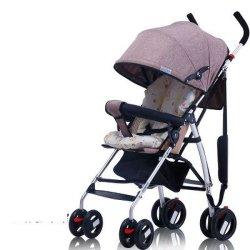Venda por grosso de fábrica fácil guarda-chuva dobrável carrinho de bebé 3 em 1 pega reversível Bar Bebê Pram