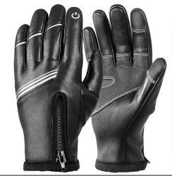 Guantes de ciclismo de invierno para los hombres y mujeres - Windproof Non-Slip caliente Road Guantes de bicicleta de montaña - térmica con dedos guantes de moto para correr, la conducción, el senderismo