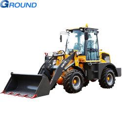 1.5tonブルドーザー、小型車輪のローダーのトラクターの建設用機器