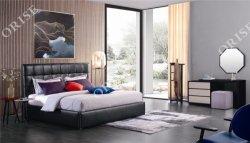Novo Orise China Mobiliário Foshan duplo de alta qualidade da estrutura de madeira maciça cama de armazenamento