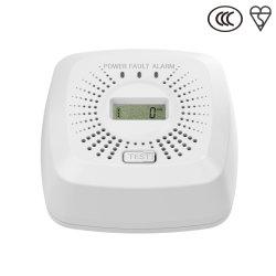 Marca CE Figaro Sensor de monóxido de carbono Alarm 10 anos bateria com visor LCD EN50291