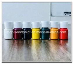 Los rayos UV Anti-Scratching mancha de color de pintura de colores sólidos manchas de pintura de color de madera para muebles de piso de madera