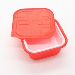 China Fabricante Microwaveable descartáveis de plástico PP Embalagem Fast Food contentor