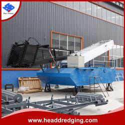 중국 강 청소 기계 또는 완전히 배 물 위드 자동적인 채초 수확기 뜨기 모으는 물 수확기 배 또는 배