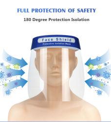 Schnelle Anlieferungs-transparente mehrfachverwendbare Masken-Plastiksicherheits-Schutz-Gesicht Sheilds
