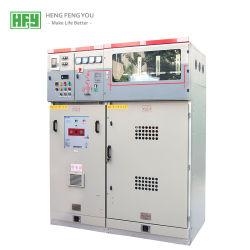 Suministro de la fábrica Xgn15-12 fijo Tipo de caja de metal de CA incluido el equipo de interruptor de alta tensión de red de anillo de armario de distribución certificado CE certificado CCC gabinete