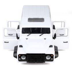 1/10 원격 제어 차량 트라xxas D110 하드 플라스틱 313mm 휠 베이스 D110 차체의 차 셸
