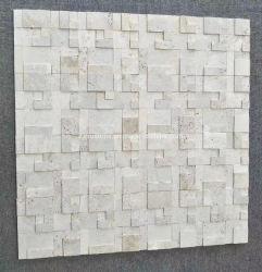 Pietra naturale o pietra arrugginita di marmo artificiale della coltura dell'ardesia per il rivestimento della parete decorativo