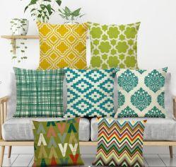 Almofada de impressão de veludo, Square Almofada decorativa coberturas para sofá cama Exact Decoração