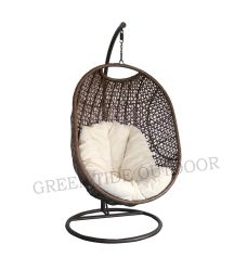 Patio exterior/Mimbre Rattan silla Huevo