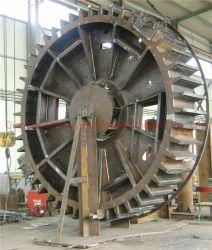 Los productos certificados ISO9001 de la estructura de acero soldadura de piezas del rotor del generador de energía eólica/piezas del estator