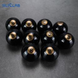 球のびん5+1mlの一義的なシリコーンの容器の瓶の軽打のWeed黒く赤いボックス