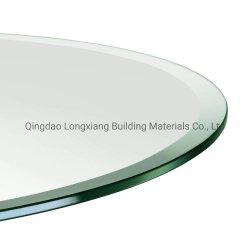 6 мм 8 мм 10 мм 12 мм 15 мм очистить стекло раунда из закаленного стекла для кофе на столе
